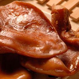 卤猪耳 五香味 阿雪卤味  约500g