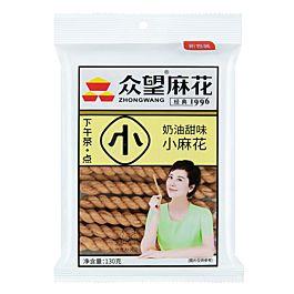 众望 小麻花 奶油甜味 130g