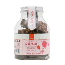黑糖珍珠必备原料 良品铺子 玫瑰黑糖 固体饮料 150g
