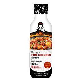 韩国 AJUMMA 韩式辣鸡肉酱 335g
