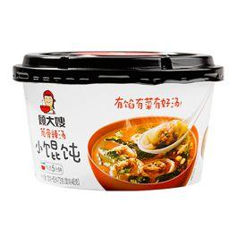 顾大嫂 五分钟小馄饨 筒骨辣汤味 73g 保质期至2021.10.08