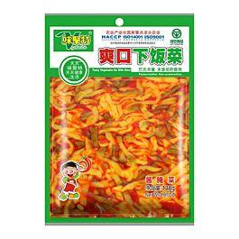 味聚特 爽口下饭菜 138g