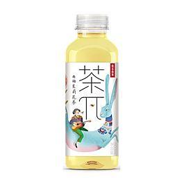 农夫山泉 茶π 茶派 西柚茉莉花茶 500ml 保质期至2021.11.27