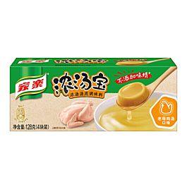 家乐 浓汤宝 4块装 老母鸡汤口味 128g