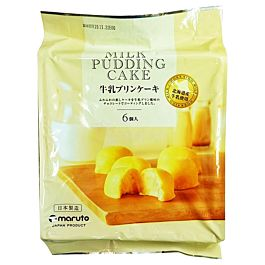日本空运 Maruto 牛奶布丁蛋糕 (6个) 174g