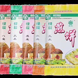 买一赠一 绿辰 手工煎饼 东北特产 大米味 125g 保质期至05.11.2020