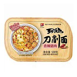 盒装 紫山 到饭点 自热刀削面 香辣猪肉味 530g
