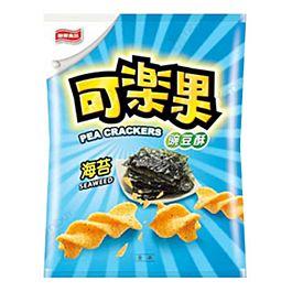 赠品 保质期至 2021.07.17 台湾联华 可乐果 海苔味 57g