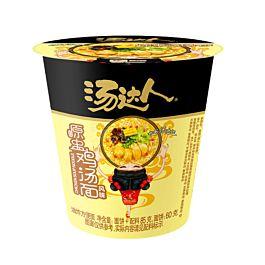 汤达人 原盅鸡汤面 杯面 73g