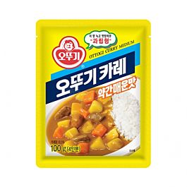 韩国 OTTOGI  即食料理咖喱粉 4人份 中辣 100g