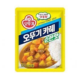 韩国 OTTOGI  即食料理咖喱粉 4人份 微辣 100g