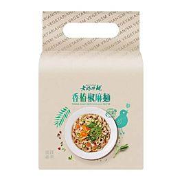台湾 老妈拌面 香椿椒麻 三连包 3x118g