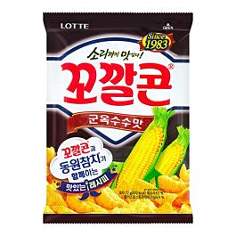 韩国 乐天 妙脆角 烧烤味 72g
