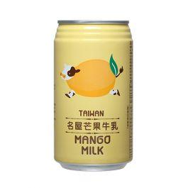 台湾 名屋 芒果牛乳 340ml