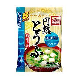 日本 HIKARI MISO 即食豆腐味增汤 8包入 150.4g