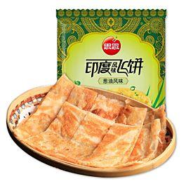 思念 印度风味飞饼 葱油风味 300g 此商品只接受DPD Express邮寄 冷冻食品 介意慎拍