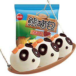 思念 熊猫包 蜜香红豆馅 300g 此商品只接受DPD Express邮寄 冷冻食品 介意慎拍