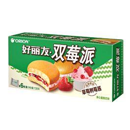 好丽友 双莓派 6枚装 138g