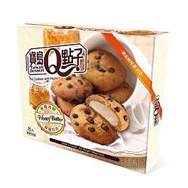台湾 宝岛Q点子 麻薯派饼 蜂蜜奶油味 160g
