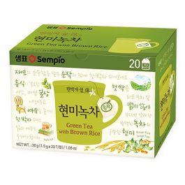 韩国 膳府 纯有机玄米绿茶 20枚茶包 30g