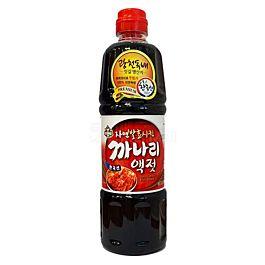 韩国 ASSI 韩国辣白菜用调料海鲜汁 玉筋鱼鱼露 900ml