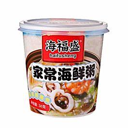 海福盛 方便速食粥 家常海鲜粥 38g