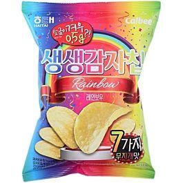 韩国原产热销 HAITAI 生生洋芋片 海鲜风味 60g 保质期至2021.10.29