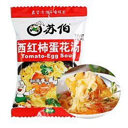 苏伯 西红柿蛋花汤 内涵4袋 32g