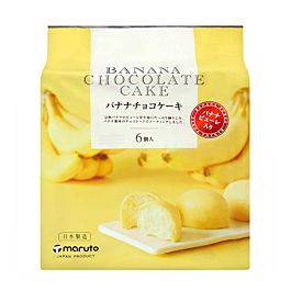 日本 Maruto 香蕉巧克力蛋糕 174g  (2021.09.30)