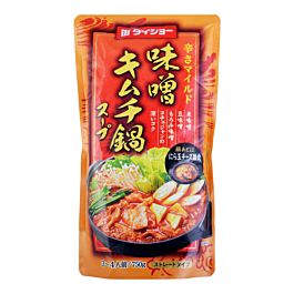 日本 DAISHO 日式火锅汤底 味噌泡菜味 3-4人份 750g