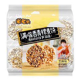 米老头 青稞麦饼  400g