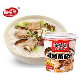 海福盛 方便速食粥 排骨菌菇粥 38g