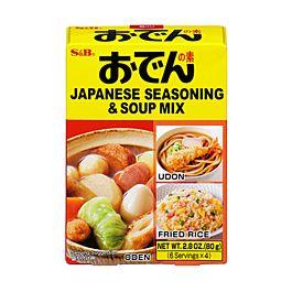 日本 S&B 关东煮汤料 80g