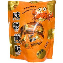 鹭林 咸蟹黄酥 200g