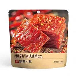 飘零大叔 手撕猪肉脯 香辣风味 50g