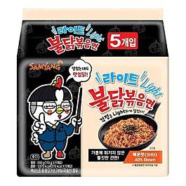 韩国 三养火鸡面 拌面 微辣版 非油炸 5x110g