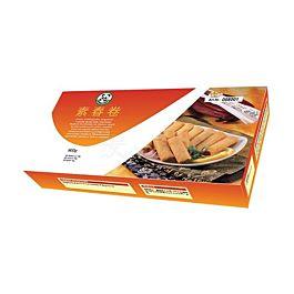 快乐熊猫 素春卷 60条 900g 此商品只接受DPD Express 18:00邮寄 冷冻食品 介意慎拍