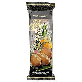 日本 日吉制果 铜锣烧 红豆柚子味 5枚入 300g