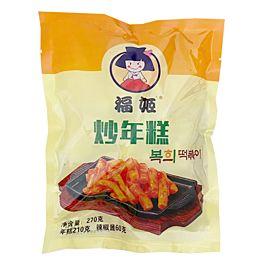 保质期至 2021.07.20 福姬 炒年糕 带辣酱包 270g