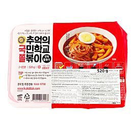 韩国 Cook-Tok 辣炒年糕&小面 速食部队锅 带辣酱包 520g