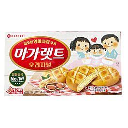 韩国 LOTTE乐天 玛格丽特饼干 264g