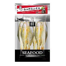 舟山小黄鱼 500g 此商品只接受DPD Express邮寄 冷冻食品 介意慎拍