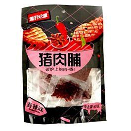 流行E派 猪肉脯 香辣味 68克